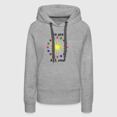 We are ALL One - Women's Premium Hoodie