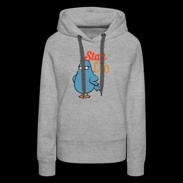 Cute Animal Kids Shirt Bird Birding Bird Spotter - Women's Premium Hoodie