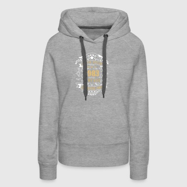 Limited Edition Made In 1983 Vintage Original - Women's Premium Hoodie