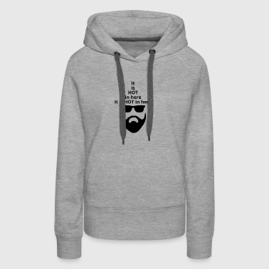 Man with the hat - Women's Premium Hoodie