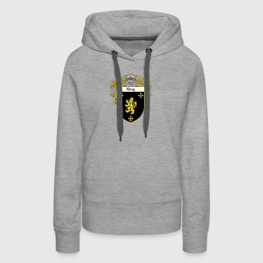 King Coat of Arms - Women's Premium Hoodie
