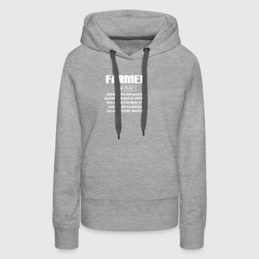 Define Farmer T Shirts - Women's Premium Hoodie