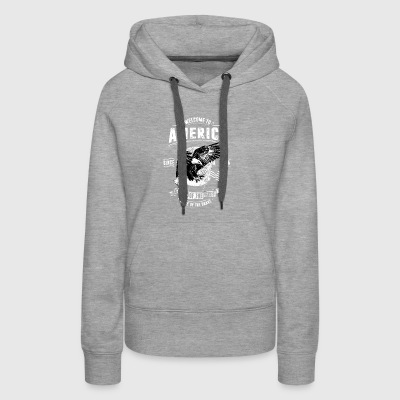 Welcome To America - Women's Premium Hoodie