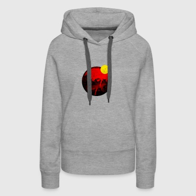 Eclipse, Total Solar Eclipse - Women's Premium Hoodie