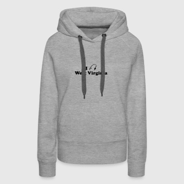 west virginia fishing - Women's Premium Hoodie