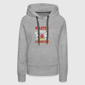 Master Of The Campfire Funny Camping Shirt - Women's Premium Hoodie
