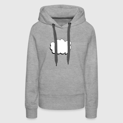 thought balloon - Women's Premium Hoodie