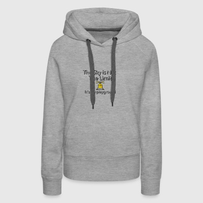 The sky is not the limit - Women's Premium Hoodie