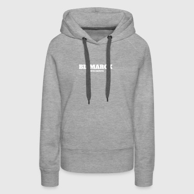 NORTH DAKOTA BISMARCK US EDITION - Women's Premium Hoodie
