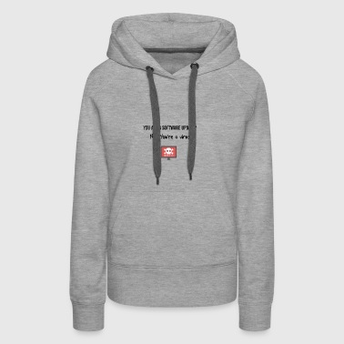 You are a software update? - Women's Premium Hoodie
