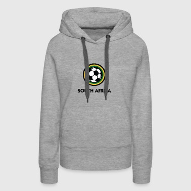 South Africa Football Emblem - Women's Premium Hoodie