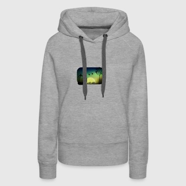 released to moonlight - Women's Premium Hoodie