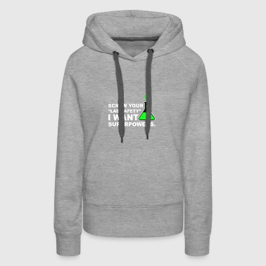 Funny Lab Safety Science Geek - Women's Premium Hoodie