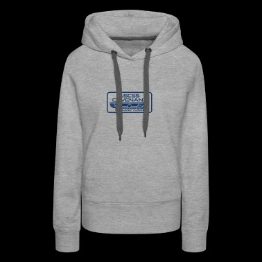 USCSS Covenant with border - Women's Premium Hoodie