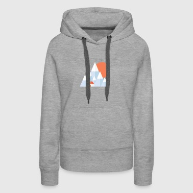 Snow Valley - Women's Premium Hoodie