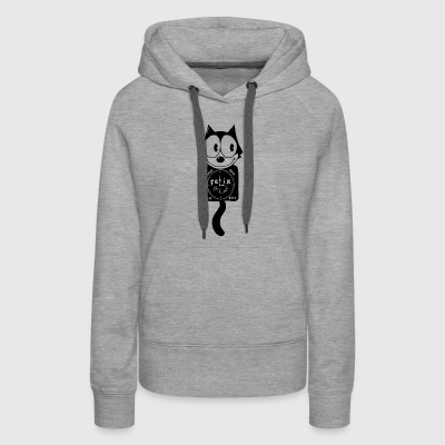 Felix the Clock - Women's Premium Hoodie