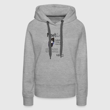 She Looks So Perfect - Meet Luke TRANSPARENT - Women's Premium Hoodie