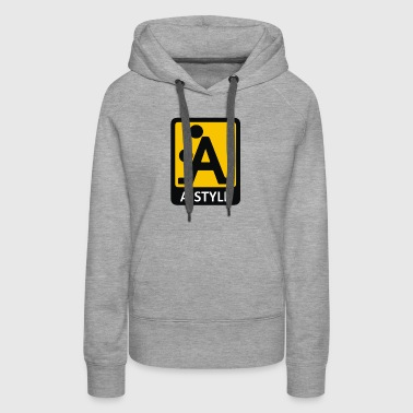 a style position - Women's Premium Hoodie