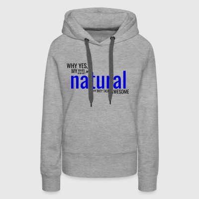 Natural Dark - Women's Premium Hoodie