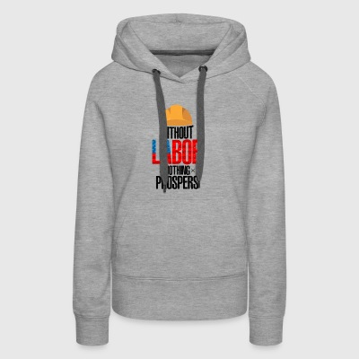 Celebrate Labor Day Tees - Women's Premium Hoodie