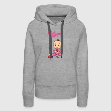 Welcome 2019 Bab Pregnant Pregnancyy - Women's Premium Hoodie