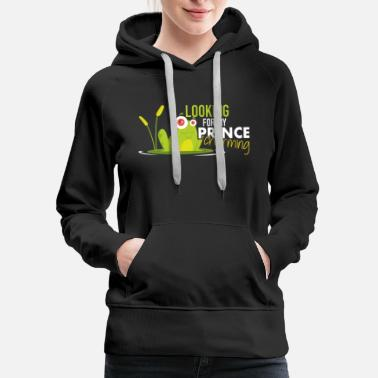 Prince Charming Looking for my Prince charming - Women's Premium Hoodie