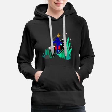 Illustration illustration - Women's Premium Hoodie