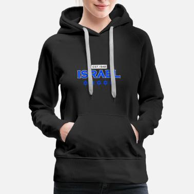 Established Israel established 1948 Star of David gift - Women's Premium Hoodie
