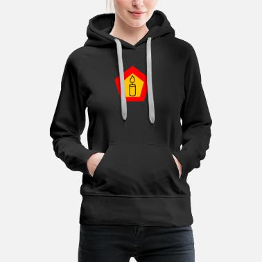 Candle candle - Women's Premium Hoodie