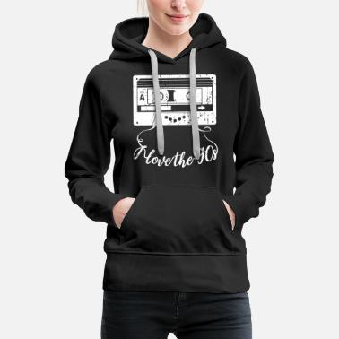 School Party I Love The 90s - Women's Premium Hoodie