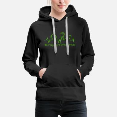 Greenpeace Pray for amazon 5.0 - Women's Premium Hoodie