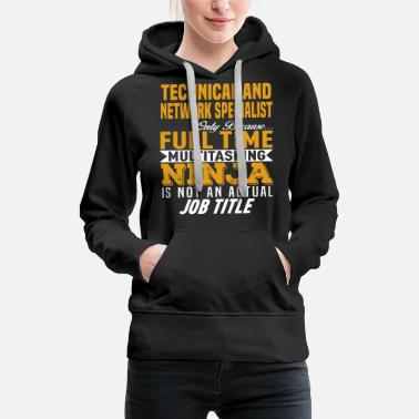 Networking Technical and Network Specialist - Women's Premium Hoodie