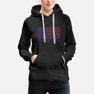 National Holidays Veterans 4 July National Holiday - Women's Premium Hoodie