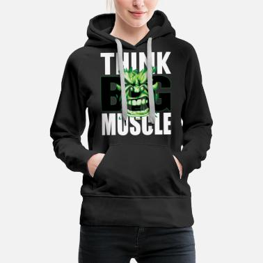 Biceps Funny Motivation Fitness Bodybuilding - Women's Premium Hoodie