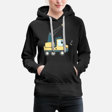 Vehicle Truck Construction Vehicle - Women's Premium Hoodie