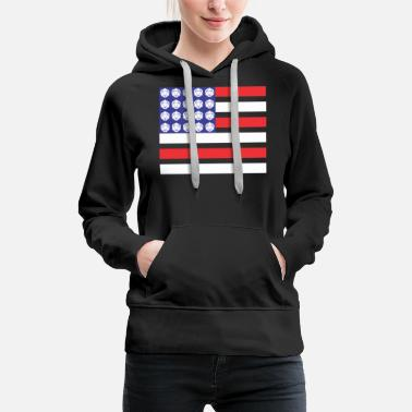 Rpg United States of Dice - Women's Premium Hoodie