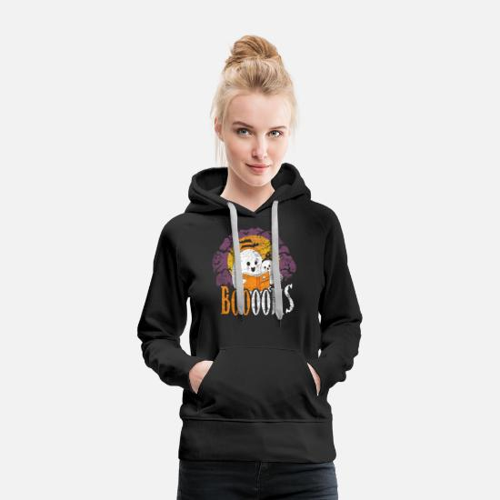 Gift Idea Hoodies & Sweatshirts - Read Halloween - Women's Premium Hoodie black