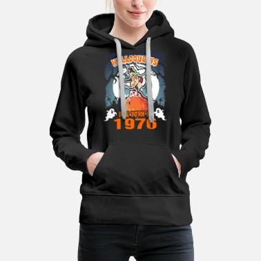 After Halloqueens Are Born In 1976 - Women's Premium Hoodie