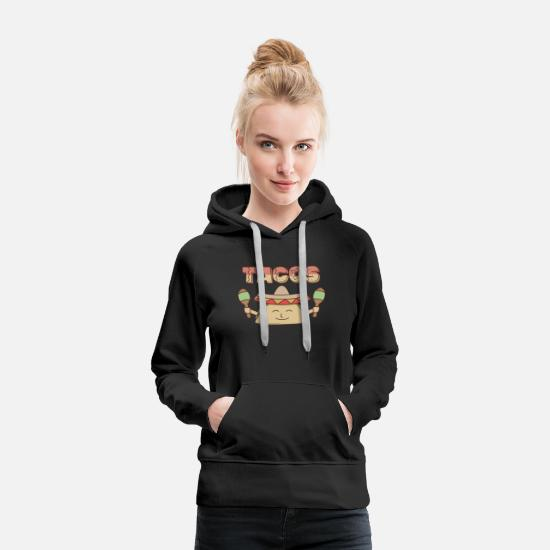 Gift Idea Hoodies & Sweatshirts - Tacos - Women's Premium Hoodie black