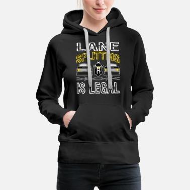 Headlights Humorous and hilarious tee made for road lovers - Women's Premium Hoodie