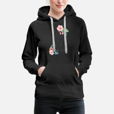 Bible inspirational quotes God Within Her Not Fall - Women's Premium Hoodie