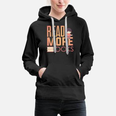 Coming Out Book worm product Read More Cool Gifts For - Women's Premium Hoodie