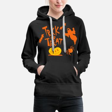 Trick Or Treat TRICK OR TREAT - Women's Premium Hoodie