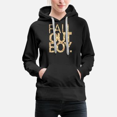 Fall Fall Out Boy flower - Women's Premium Hoodie