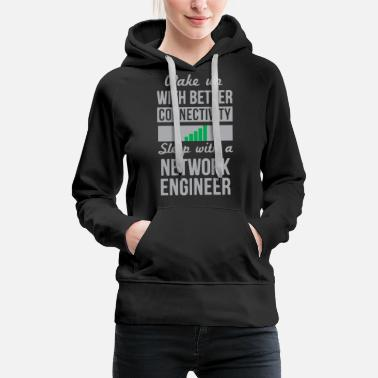 Funny Network engineer - Women's Premium Hoodie