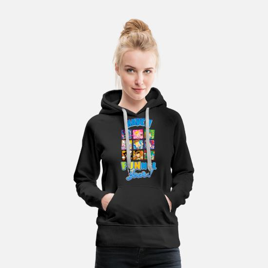 Youtube Hoodies & Sweatshirts - Have a FUNnel Year - Women's Premium Hoodie black