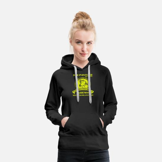 Sex Hoodies & Sweatshirts - Sex Panther Cologne - Women's Premium Hoodie black