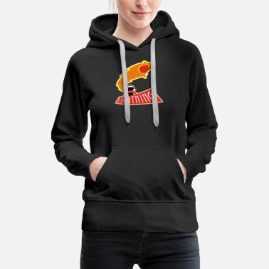 Tesla Lightning The History League - Women's Premium Hoodie
