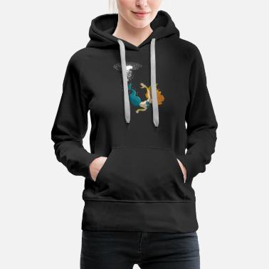 Women woman mermaid - Women's Premium Hoodie