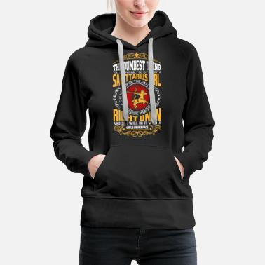 Gate The Dumbest Thing You Can Possibly Do Is Piss Off - Women's Premium Hoodie